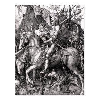 Muerte del caballero de Durer y la postal del diab
