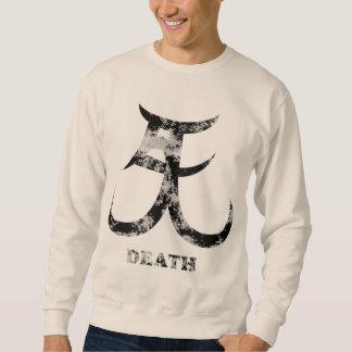 Muerte del kanji gráfico sudaderas