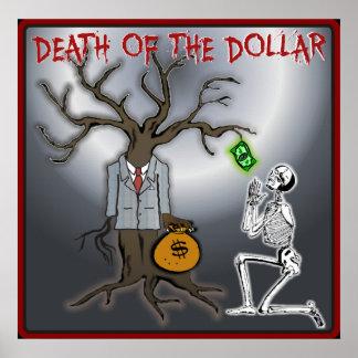 Muerte del poster del dólar