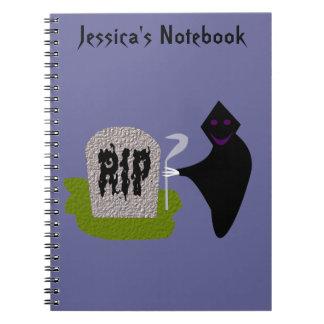 Muerte en el cuaderno del personalizable de Cemet
