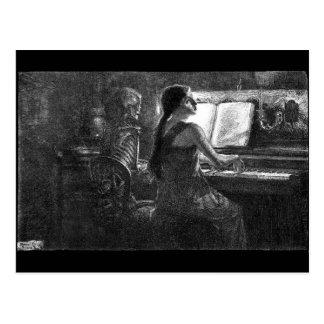 Muerte en la postal del piano
