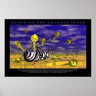 Muerte en los llanos de la agarosa póster