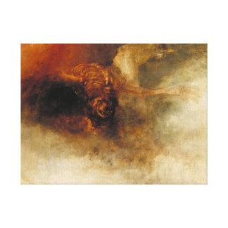Muerte en un caballo pálido impresiones en lienzo estiradas