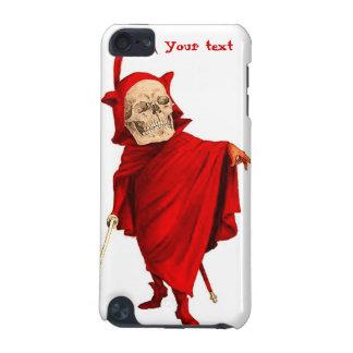 Muerte esquelética de Halloween Fausto del cráneo  Carcasa Para iPod Touch 5