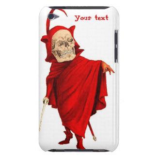 Muerte esquelética de Halloween Fausto del cráneo Funda Para iPod De Barely There