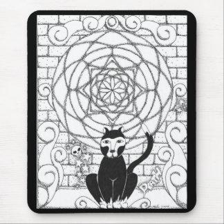 Muerte - gatito de la apocalipsis tapetes de raton