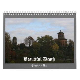 Muerte hermosa - un calendario del arte del cement
