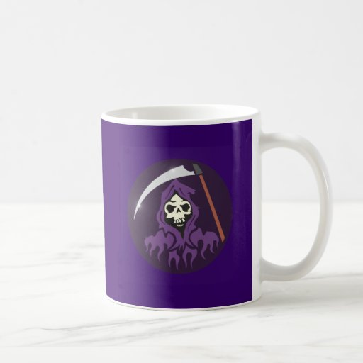 Muerte hombre de guadaña grim reaper taza clásica