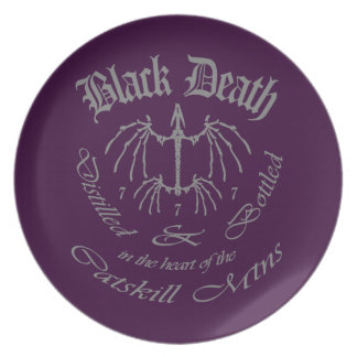 Muerte negra 777 - destilería de Catskill Mtn Plato Para Fiesta