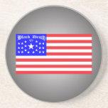 Muerte negra 777 - Em liberado Posavasos Personalizados