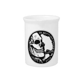 Muerte negra 777 - libertad jarra para bebida