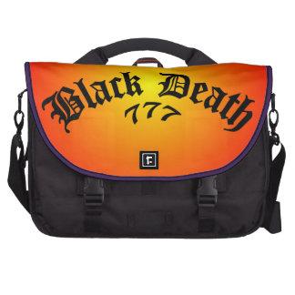 Muerte negra 777 - logotipo bolsas de portatil