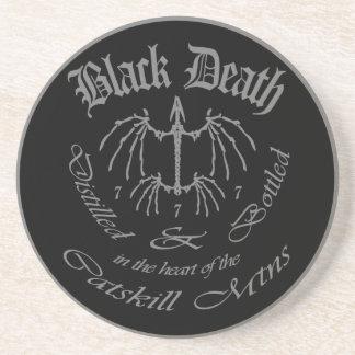 Muerte negra 777 - montañas de Catskill Posavasos Para Bebidas