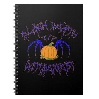 Muerte negra 777 - Octoberfest Libro De Apuntes Con Espiral