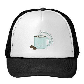 Muerte por el chocolate gorras de camionero