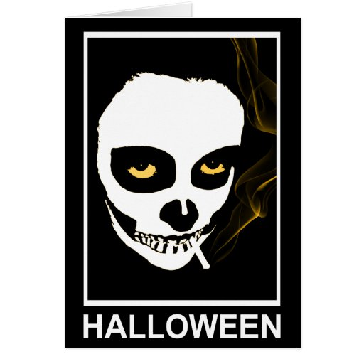 muerte que intoxica Halloween Tarjeta De Felicitación