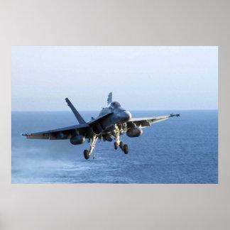 MUERTE RATTLERS F-18 PÓSTER