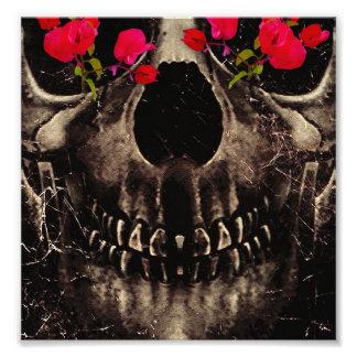 Muerte y flores impresiones fotograficas