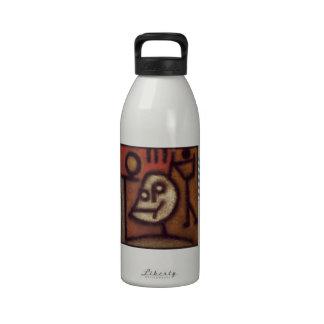 Muerte y fuego de Paul Klee- Botella De Agua