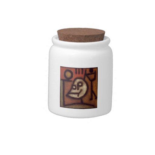 Muerte y fuego de Paul Klee- Jarras Para Caramelos