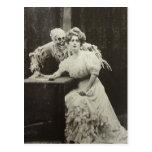 Muerte y la doncella tarjetas postales