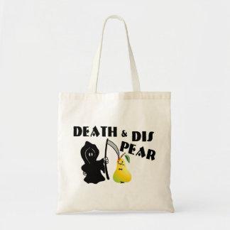 Muerte y pera del SID Bolsa Tela Barata
