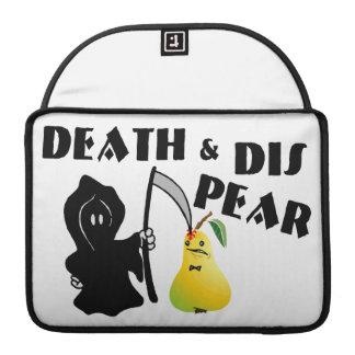 Muerte y pera del SID Fundas Para Macbook Pro