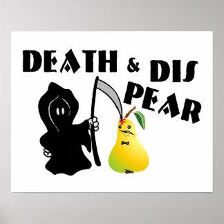 Muerte y pera del SID Posters