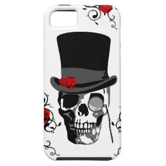 Muerte y rosas del cráneo de barón Samedi - de iPhone 5 Fundas