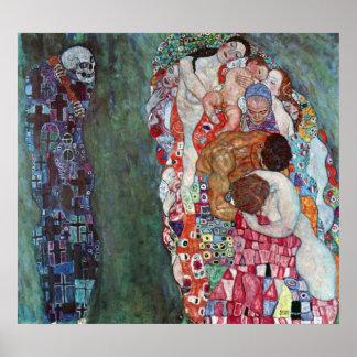 Muerte y vida de Gustavo Klimt Impresiones