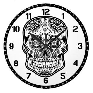 muertes de los delos del diámetro reloj redondo grande