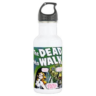 Muerto quién paseo - horror del zombi del vintage