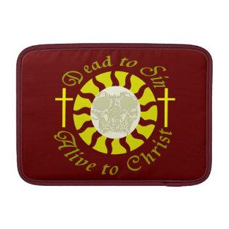 Muertos a sin - vivo a Cristo: 6:11 de los romanos Funda MacBook
