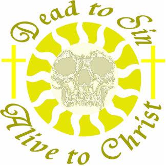 Muertos a sin - vivo a Cristo Fotoescultura Vertical