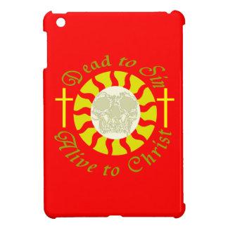 Muertos a sin - vivo a Cristo iPad Mini Funda