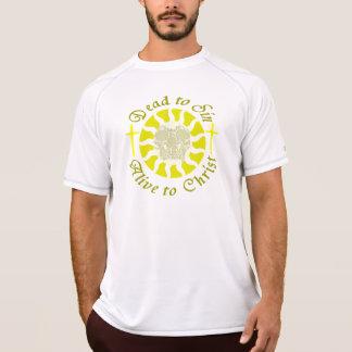 Muertos a sin - vivo a Cristo Camisetas