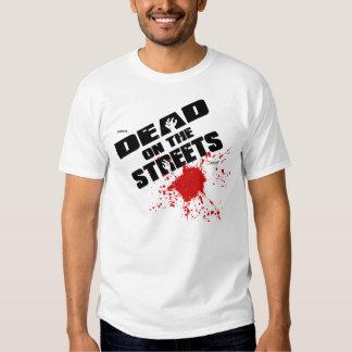 Muertos en las calles (logotipo de Splat) Remeras