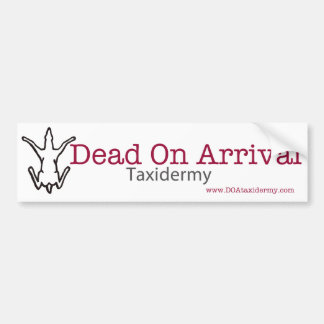 Muertos en pegatina para el parachoques de la lleg pegatina para auto