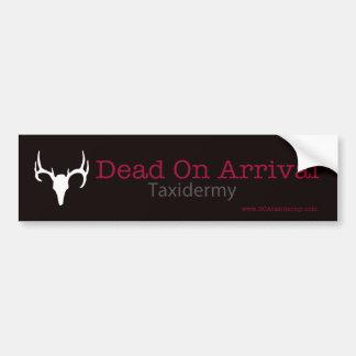 Muertos en pegatina para el parachoques de la lleg etiqueta de parachoque