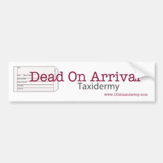 Muertos en pegatina para el parachoques de la lleg pegatina de parachoque
