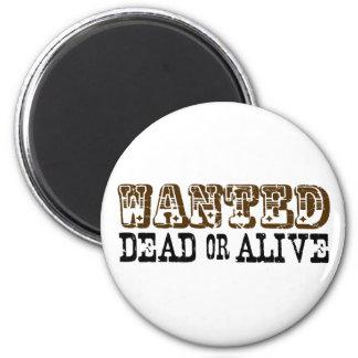 Muertos o vivo queridos imanes