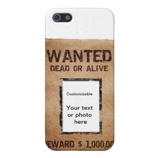 Muertos o vivo queridos iPhone 5 cárcasas