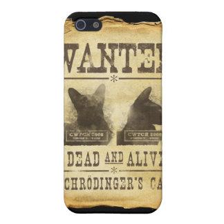 Muertos y vivo queridos. El gato de Schroedinger iPhone 5 Funda
