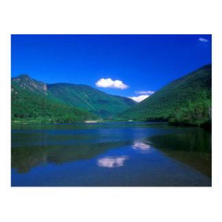 Muesca de Franconia del lago echo Tarjetas Postales