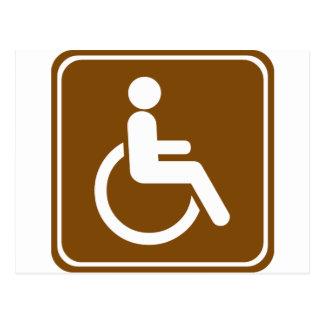 Muestra accesible de los centros recreativos de la postal