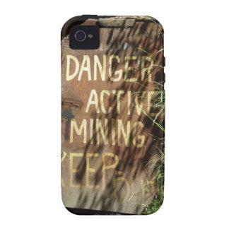 Muestra activa de la explotación minera Case-Mate iPhone 4 carcasa
