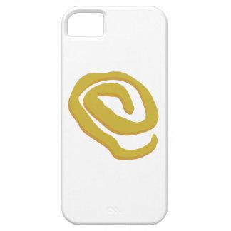 Muestra amarilla iPhone 5 carcasas