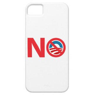 Muestra anti de NObama Obama iPhone 5 Protector