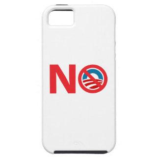 Muestra anti de NObama Obama iPhone 5 Carcasas
