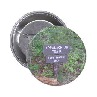 muestra apalache del sendero del rastro pin